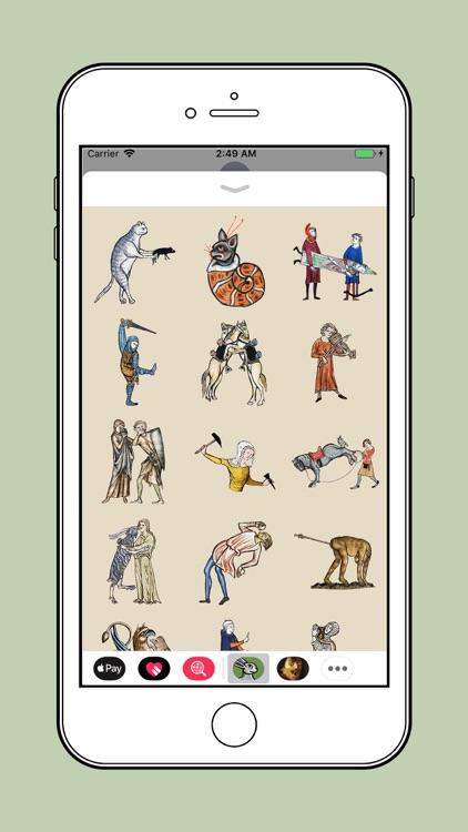 Medieval Rabbit Stickers screenshot-3