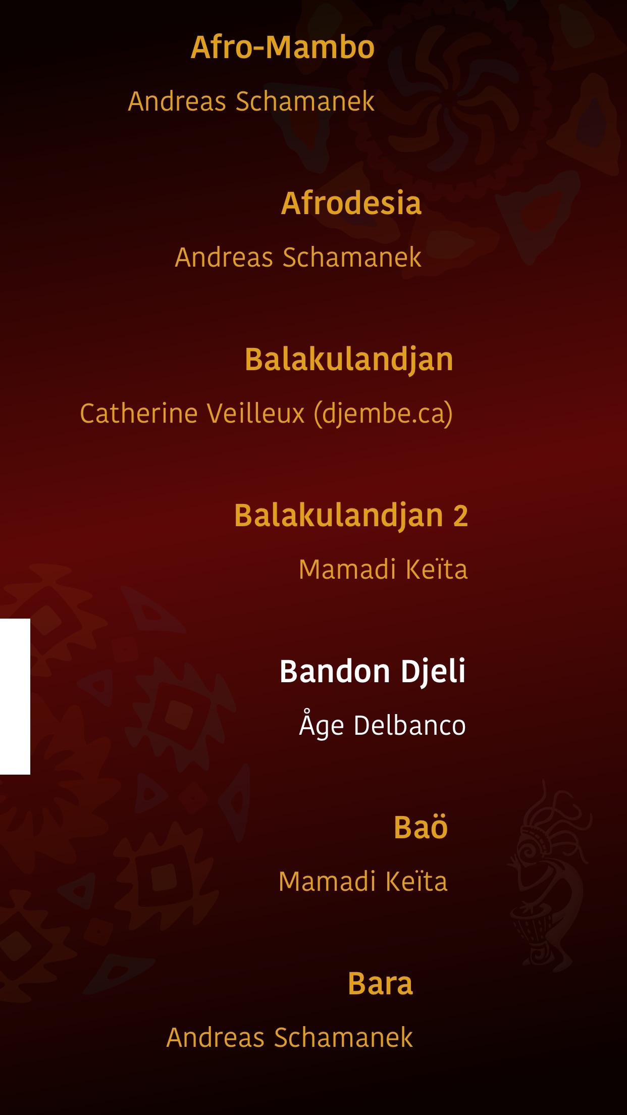 Piti Piti Pa - Djembe Studio Screenshot