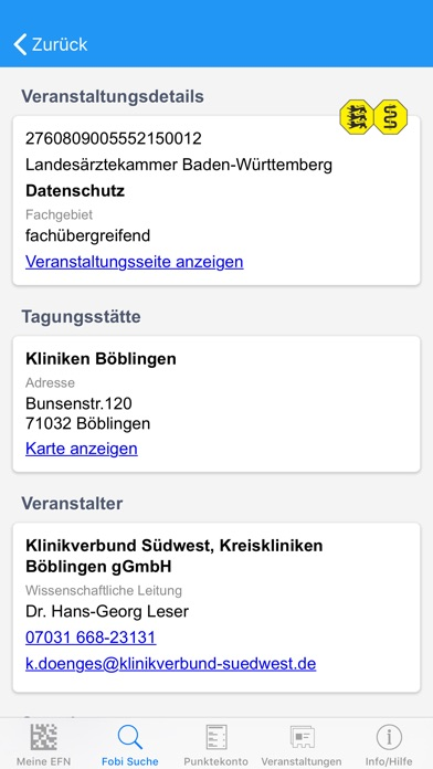 Screenshot for FobiApp in Germany App Store