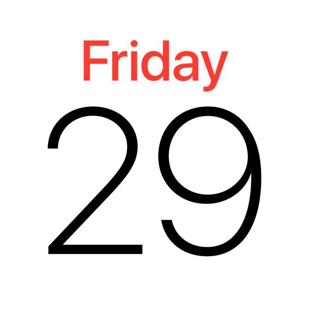 Calendar Icon Ios : Calendar on the app store