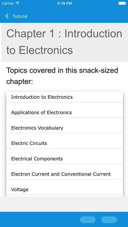 Learn Electronics by GLB screenshot-3