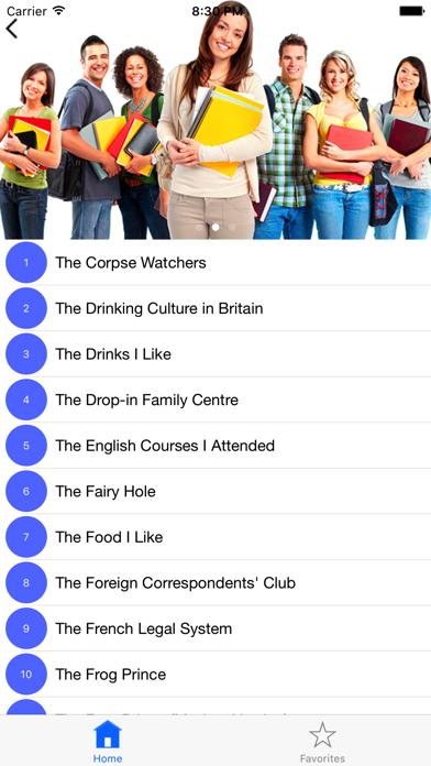 Advanced English Listening Test Screenshots
