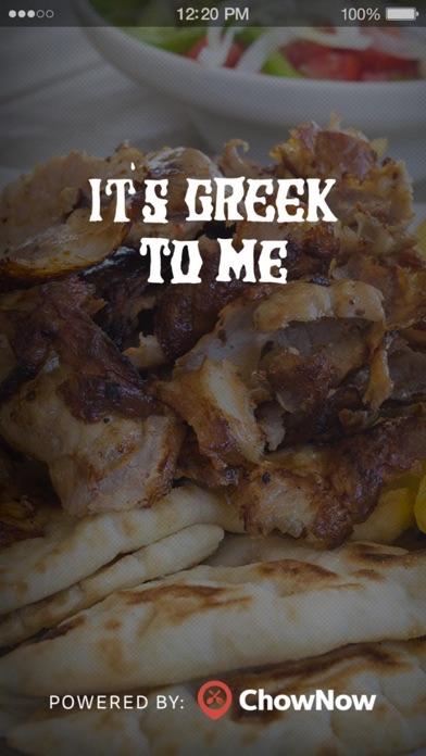 It's Greek To Me To Go screenshot 1