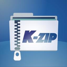 K-Zip - Zip Unzip Unrar tool supports Japanese