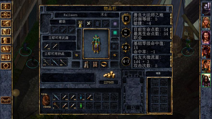 Baldur's Gate App 截图
