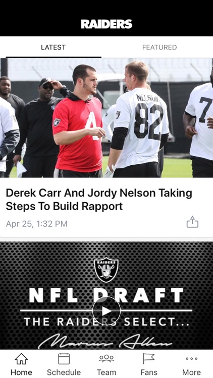 Raiders App screenshot-0