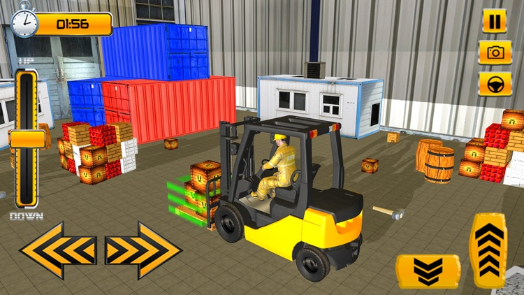 Forklift Simulator Game 2018 screenshot-4