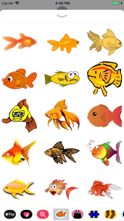 Glorious Goldfish Stickers