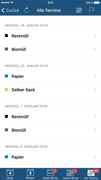 Abfall App GAP screenshot-4