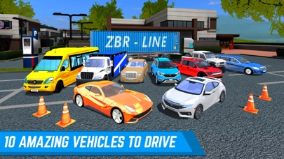 Shopping Zone City Driver App 截图