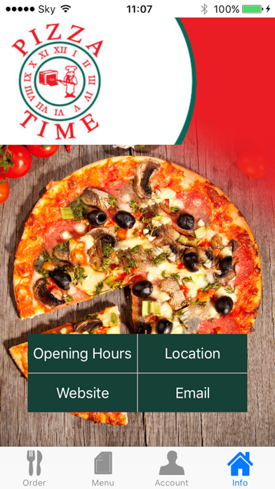Pizza Time Antrim screenshot three