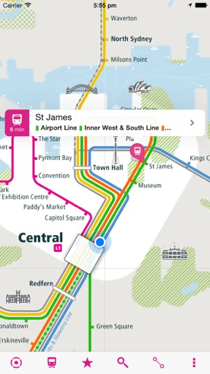 Sydney Rail Map Lite on the App Store