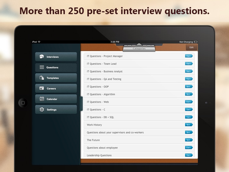 Interview Assistant Pro HD screenshot-0