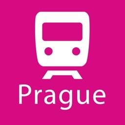 Prague Rail Map Lite