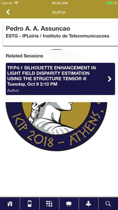 IEEE SPS Events screenshot four