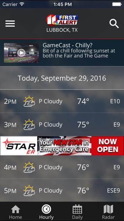 KCBD First Alert Weather screenshot-4