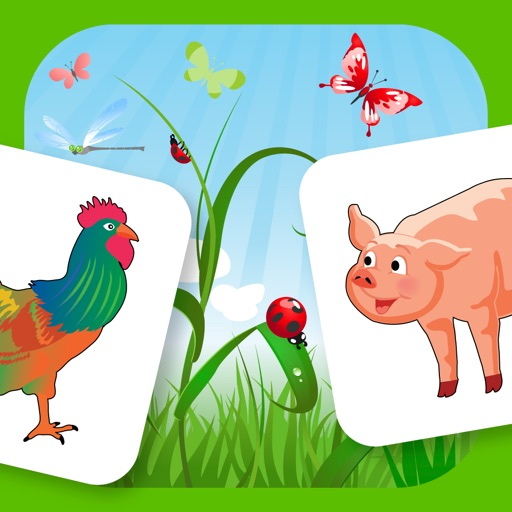 Farm Flip - Match Animal Pairs