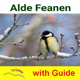Alde Feanen NP GPS and outdoor map with guide