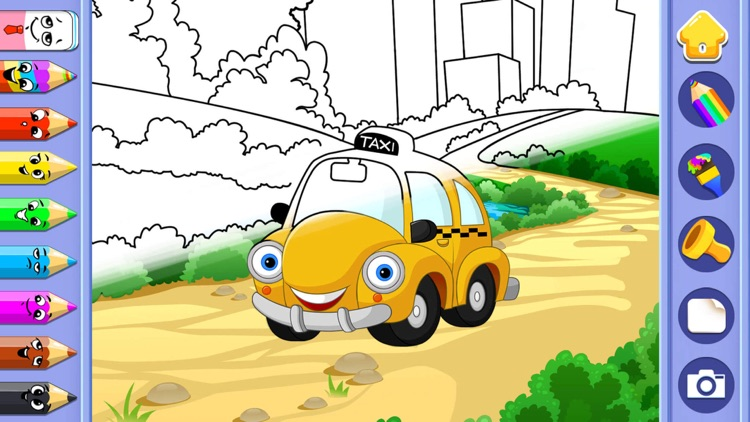 Car puzzle for kids & toddler screenshot-4