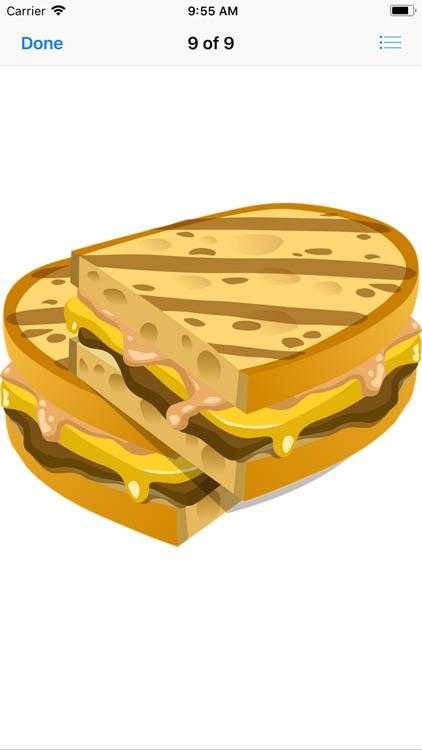 Scrumptious Sandwich Stickers screenshot-9