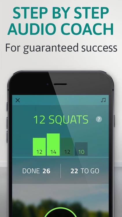 Butt workout: squat challenge