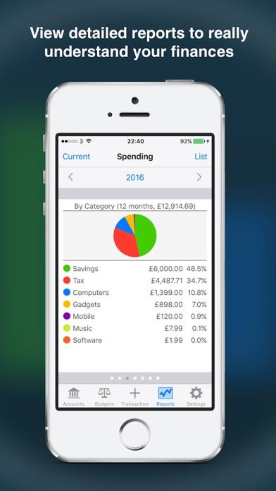 Account Tracker review screenshots