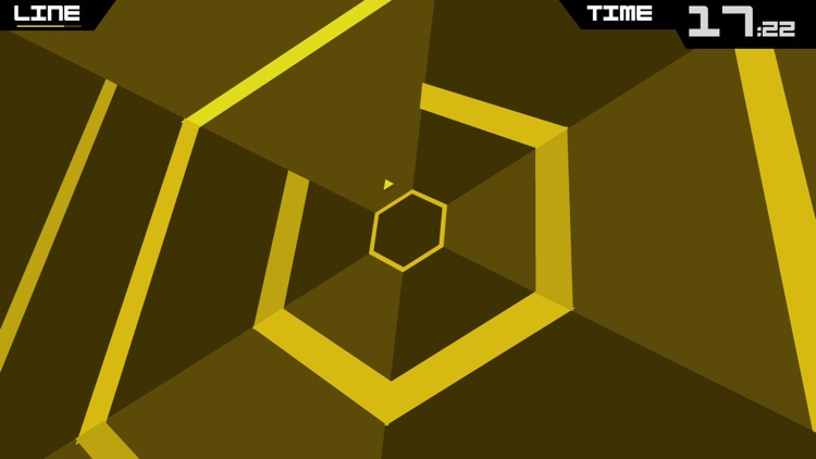 Super Hexagon screenshot-0