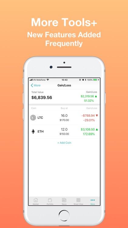 CoinPrice - Coin Market Cap screenshot-4