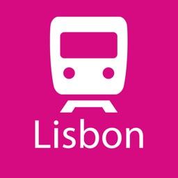 Lisbon Rail Map Lite