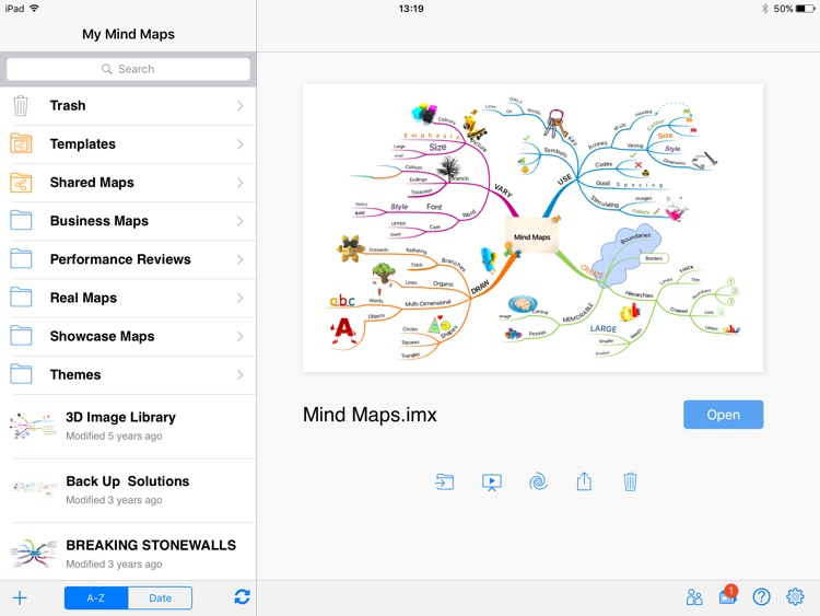 iMindMap HD screenshot-0
