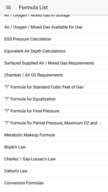US Navy Dive Manual/Calculator screenshot-5