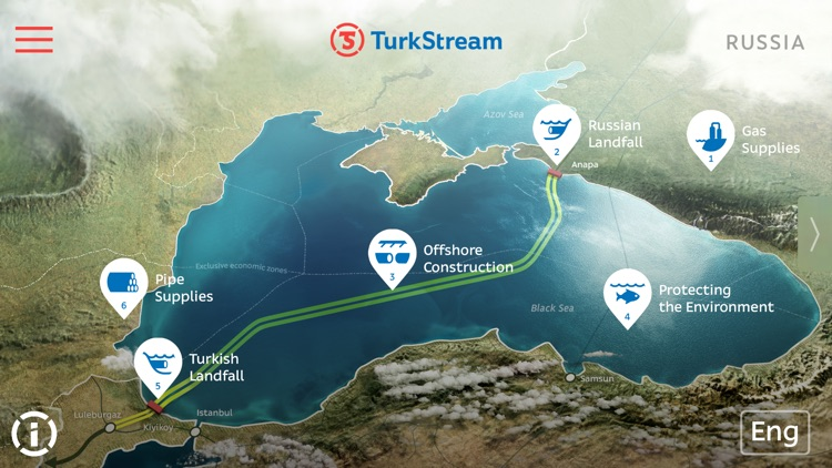 Turkstream pipeline project by art lebedev studio by art lebedev studio turkstream pipeline project gumiabroncs Images