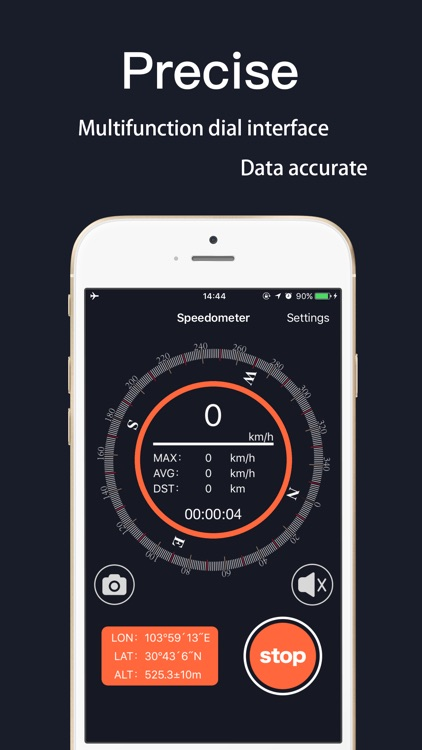 Speedometer Pro! screenshot-0
