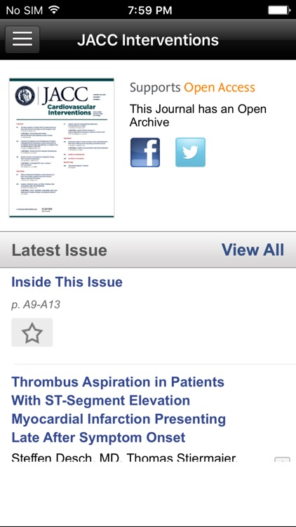 JACC Journals screenshot-3