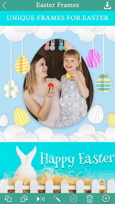 Easter Photo Frame Collage App screenshot one