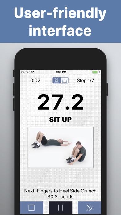 Abs Workout HIIT training wodのおすすめ画像3