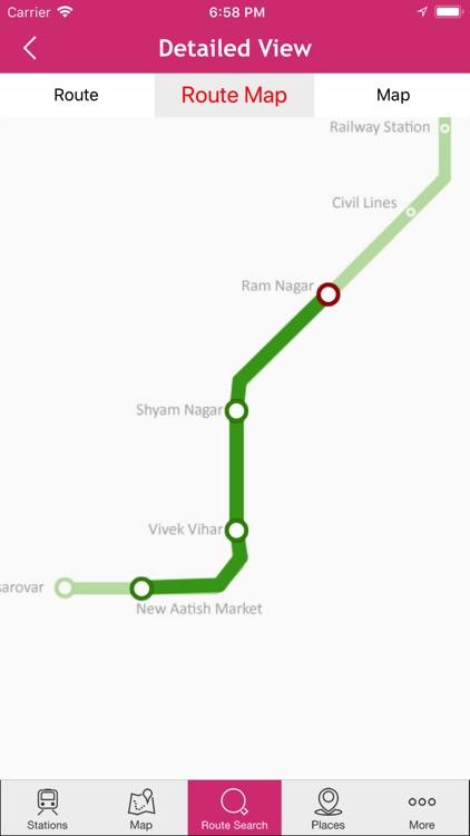 Jaipur Metro screenshot-3