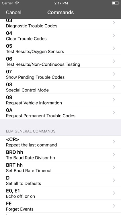 OBD Terminal for ELM327