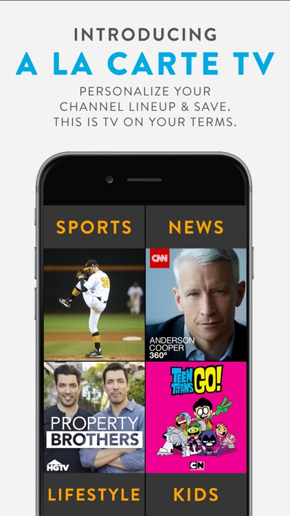 Sling TV: A La Carte TV screenshot-0