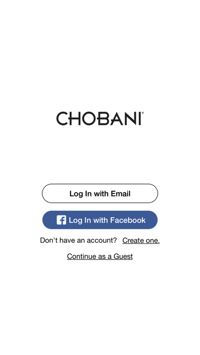 Chobani screenshot one