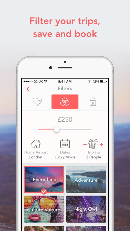 LuckyTrip - A trip in one tap screenshot-4