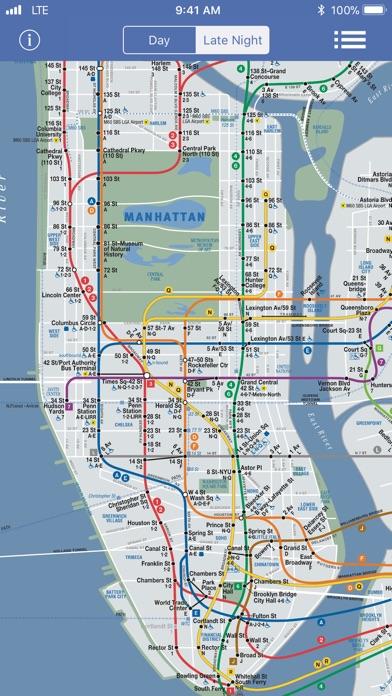 Columbus Circle Subway Map.New York Subway Map Offline By Roy Dimayuga Ios United States