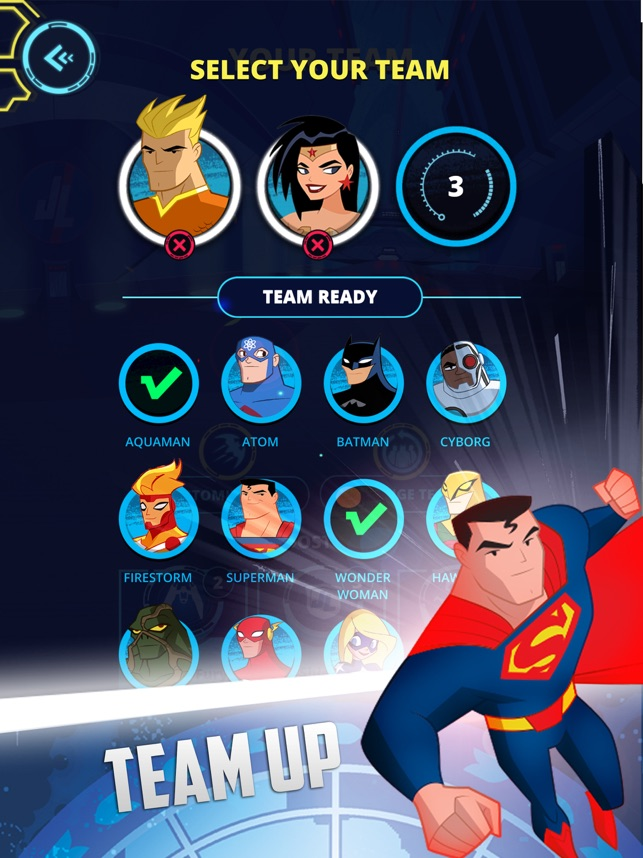 Justice League Action Run on the App Store