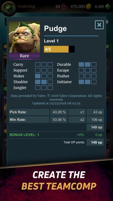 DOTA Hero Manager for Dota2 Screenshot