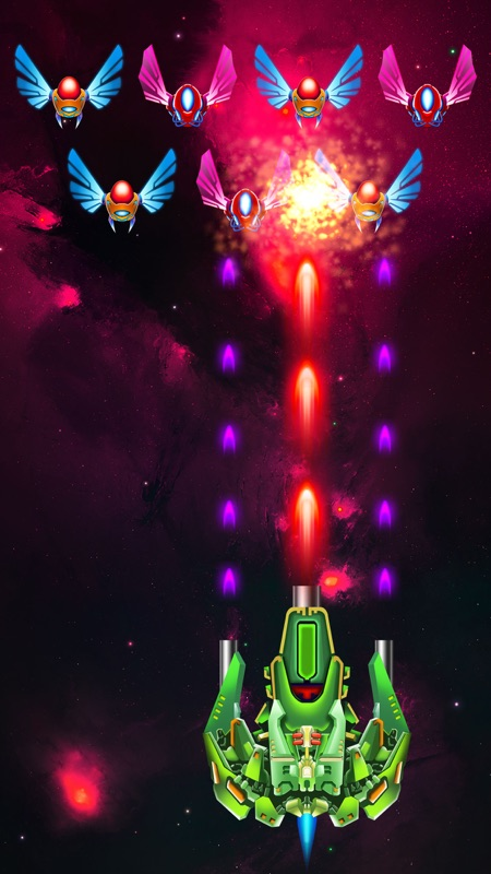 Galaxy Attack: Alien Shooter - Online Game Hack and Cheat | TryCheat com