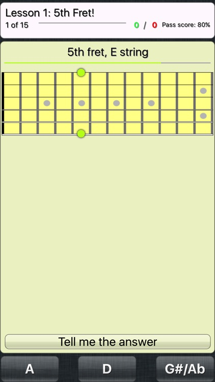 FretWiz: Fretboard Trainer screenshot-1