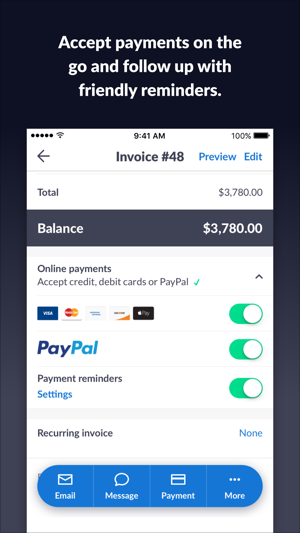 Invoice Go Invoice Estimate On The App Store - What's a invoice online stores accept checks