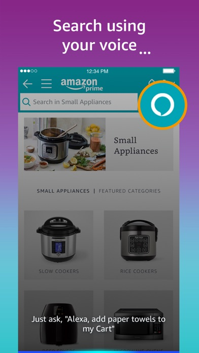 Amazon - Shopping made easy app image