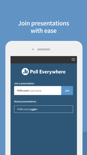 Poll Everywhere On The App Store