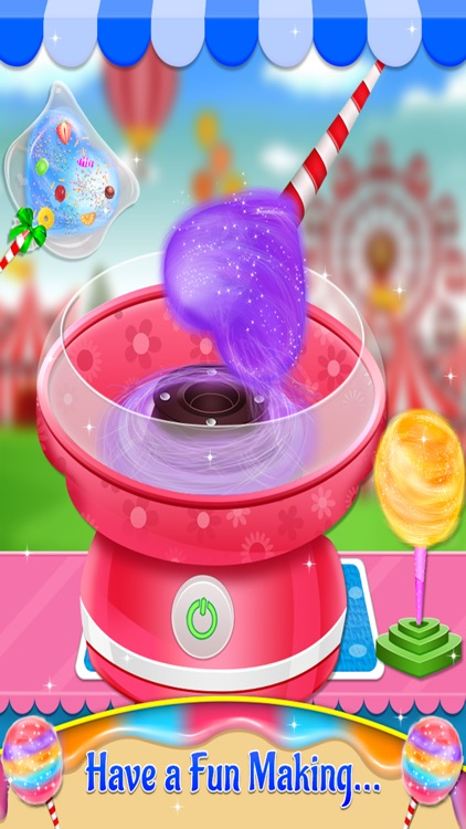 Cotton Candy - Fair Food Mania